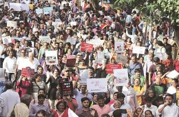Resist the Republic of Fear: March Against Mob Lynching in India